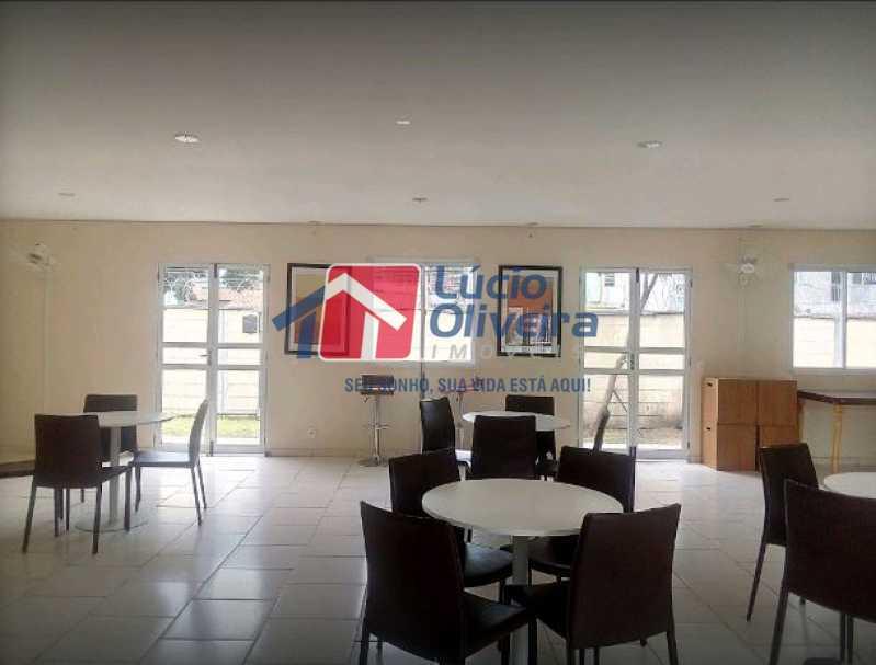 17-Salão festas - Apartamento 2 quartos à venda Rocha Miranda, Rio de Janeiro - R$ 255.000 - VPAP21540 - 18