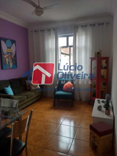 01 - Sala - Apartamento 2 quartos à venda Bento Ribeiro, Rio de Janeiro - R$ 155.000 - VPAP21541 - 1
