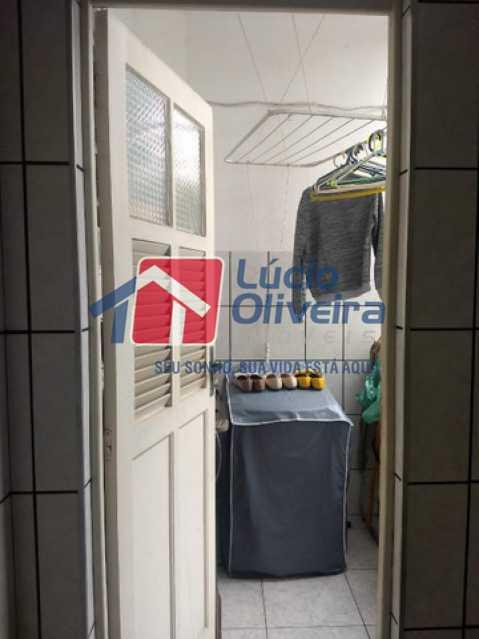 07- Area - Apartamento 2 quartos à venda Bento Ribeiro, Rio de Janeiro - R$ 155.000 - VPAP21541 - 8