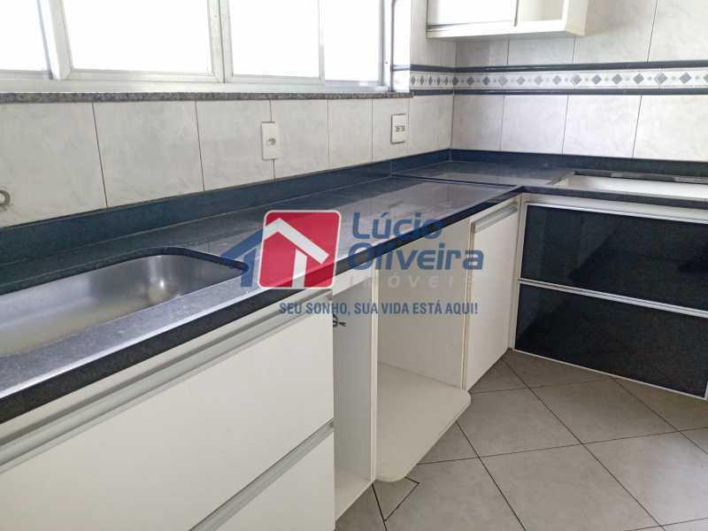 3 Cozinha - Apartamento à venda Rua Marechal Felipe Schmidt,Jardim América, Rio de Janeiro - R$ 298.000 - VPAP30385 - 6