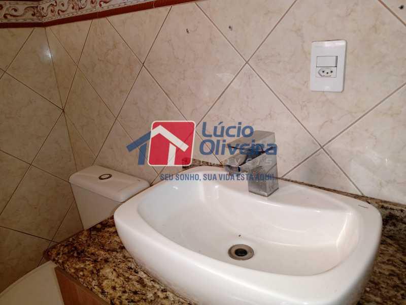 5 banheiro - Apartamento à venda Rua Marechal Felipe Schmidt,Jardim América, Rio de Janeiro - R$ 298.000 - VPAP30385 - 9
