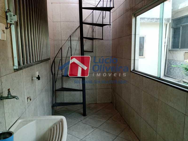 13 Area de serviços - Apartamento à venda Rua Marechal Felipe Schmidt,Jardim América, Rio de Janeiro - R$ 298.000 - VPAP30385 - 17
