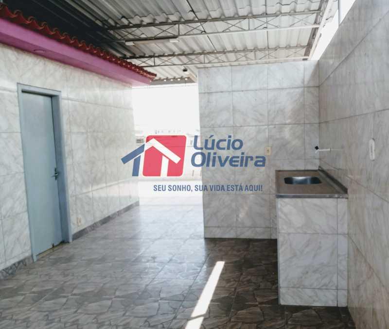 15 terraço - Apartamento à venda Rua Marechal Felipe Schmidt,Jardim América, Rio de Janeiro - R$ 298.000 - VPAP30385 - 19