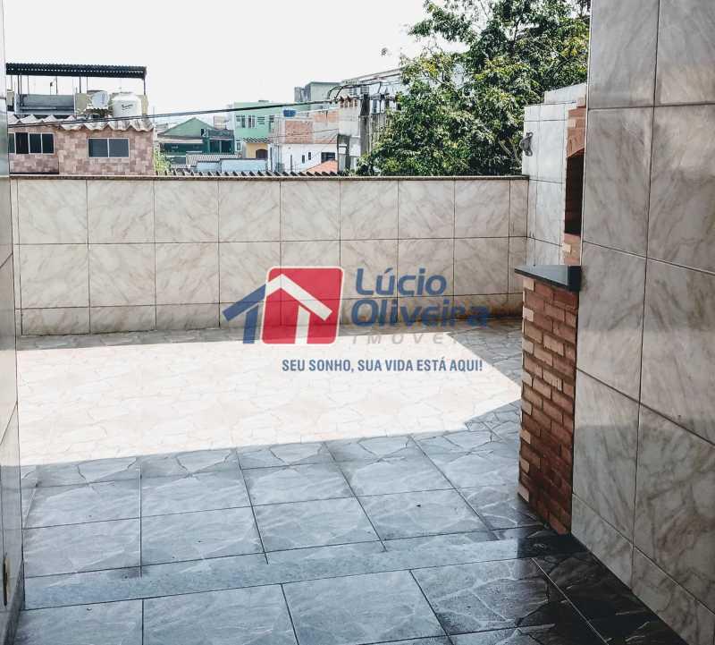 16 terraço - Apartamento à venda Rua Marechal Felipe Schmidt,Jardim América, Rio de Janeiro - R$ 298.000 - VPAP30385 - 20