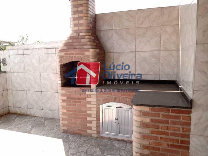 17 Churrasqueira - Apartamento à venda Rua Marechal Felipe Schmidt,Jardim América, Rio de Janeiro - R$ 298.000 - VPAP30385 - 21