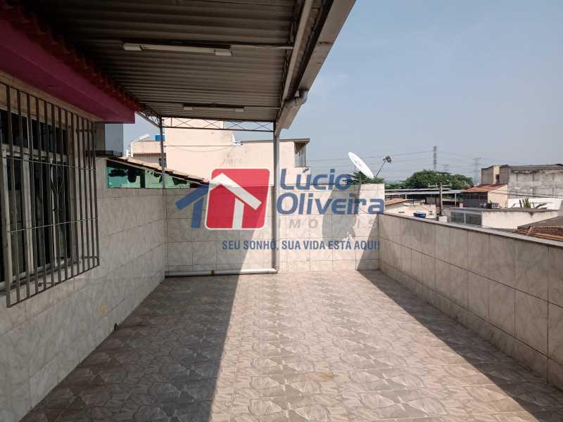 18 terraço - Apartamento à venda Rua Marechal Felipe Schmidt,Jardim América, Rio de Janeiro - R$ 298.000 - VPAP30385 - 22