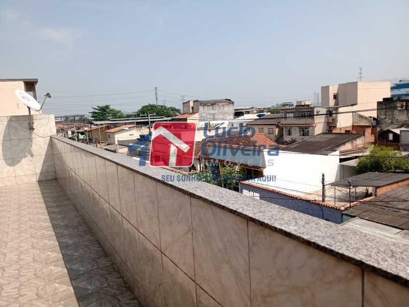 19 terraço - Apartamento à venda Rua Marechal Felipe Schmidt,Jardim América, Rio de Janeiro - R$ 298.000 - VPAP30385 - 23