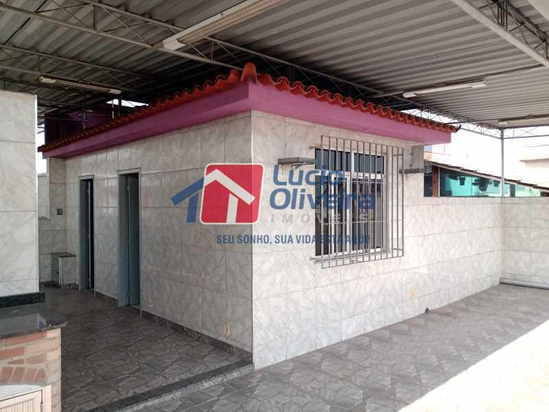 21 terraço - Apartamento à venda Rua Marechal Felipe Schmidt,Jardim América, Rio de Janeiro - R$ 298.000 - VPAP30385 - 24