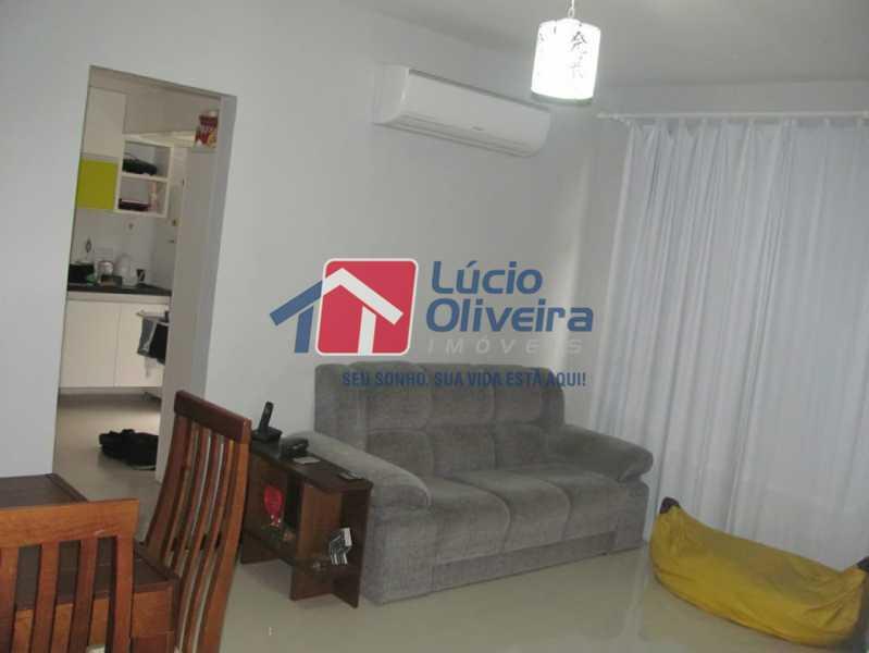 01- Sala - Apartamento à venda Rua Capitão Resende,Cachambi, Rio de Janeiro - R$ 415.000 - VPAP21546 - 1
