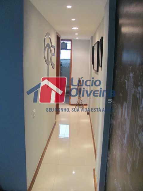 03- Circulação - Apartamento à venda Rua Capitão Resende,Cachambi, Rio de Janeiro - R$ 415.000 - VPAP21546 - 4