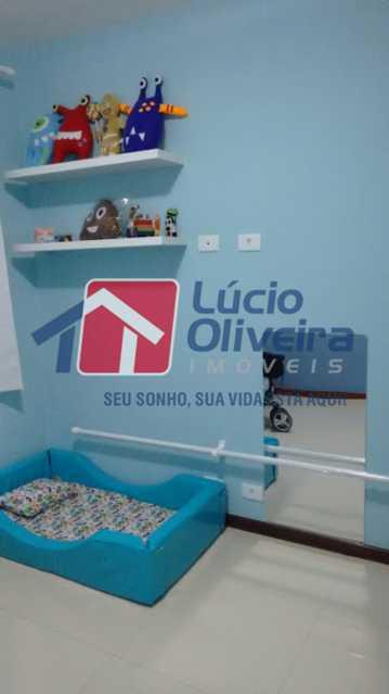 04- Quarto S. - Apartamento à venda Rua Capitão Resende,Cachambi, Rio de Janeiro - R$ 415.000 - VPAP21546 - 5