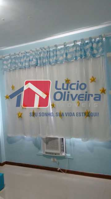 05- Quarto S. - Apartamento à venda Rua Capitão Resende,Cachambi, Rio de Janeiro - R$ 415.000 - VPAP21546 - 7
