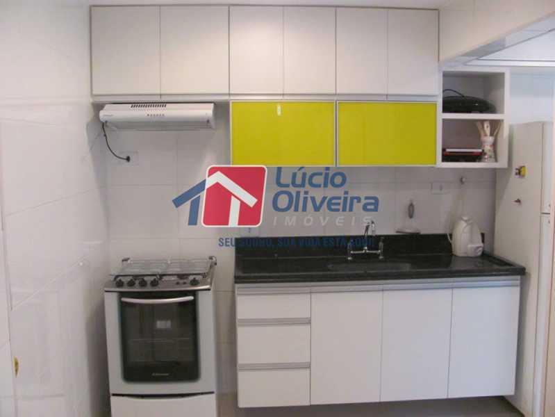 12- Cozinha - Apartamento à venda Rua Capitão Resende,Cachambi, Rio de Janeiro - R$ 415.000 - VPAP21546 - 15