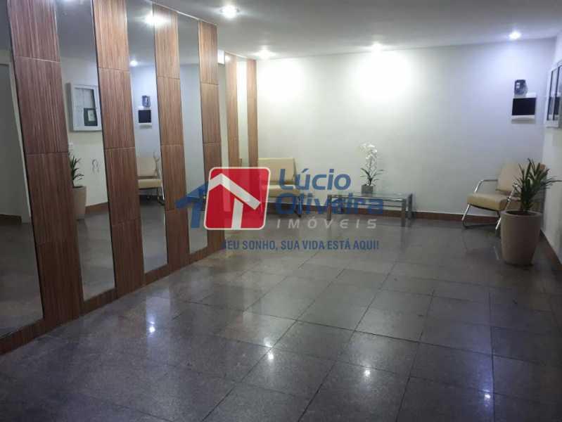 21- Hall predio - Apartamento à venda Rua Capitão Resende,Cachambi, Rio de Janeiro - R$ 415.000 - VPAP21546 - 24