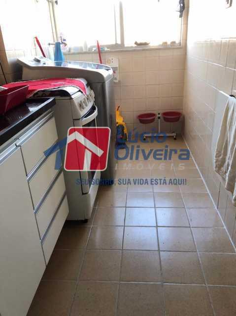 8-Area Serviço - Apartamento à venda Rua Conselheiro Agostinho,Cachambi, Rio de Janeiro - R$ 290.000 - VPAP21554 - 9