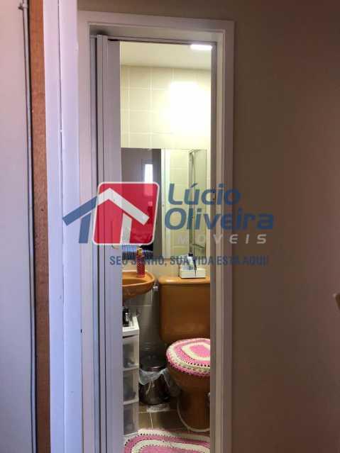 12-Banheiro suite - Apartamento à venda Rua Conselheiro Agostinho,Cachambi, Rio de Janeiro - R$ 290.000 - VPAP21554 - 13
