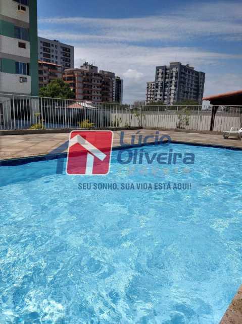 14-Piscina - Apartamento à venda Rua Conselheiro Agostinho,Cachambi, Rio de Janeiro - R$ 290.000 - VPAP21554 - 15
