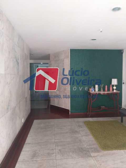 18-Recepção prédio - Apartamento à venda Rua Conselheiro Agostinho,Cachambi, Rio de Janeiro - R$ 290.000 - VPAP21554 - 19