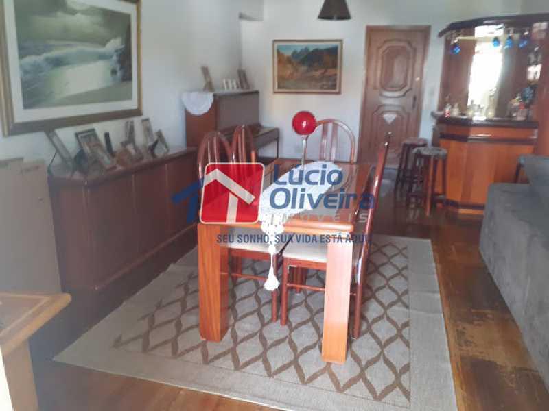03- Sala - Cobertura à venda Rua da Coragem,Vila da Penha, Rio de Janeiro - R$ 900.000 - VPCO30030 - 4