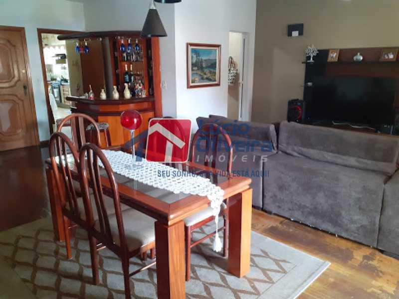 04- Sala - Cobertura à venda Rua da Coragem,Vila da Penha, Rio de Janeiro - R$ 900.000 - VPCO30030 - 5