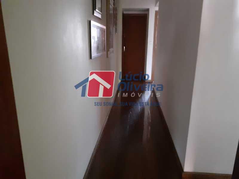 06- Circulação - Cobertura à venda Rua da Coragem,Vila da Penha, Rio de Janeiro - R$ 900.000 - VPCO30030 - 7