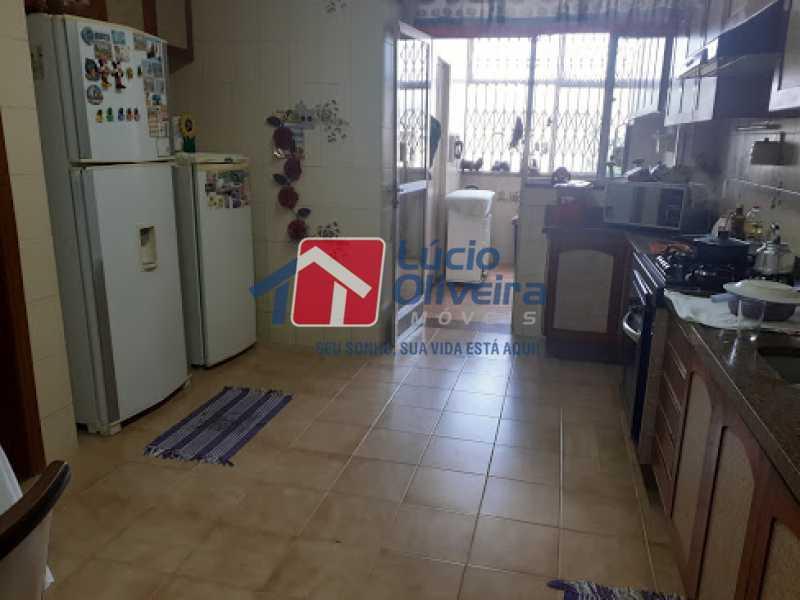 19- Cozinha - Cobertura à venda Rua da Coragem,Vila da Penha, Rio de Janeiro - R$ 900.000 - VPCO30030 - 20