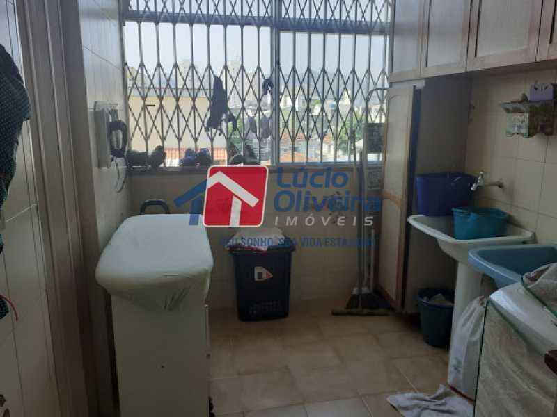 21- Area - Cobertura à venda Rua da Coragem,Vila da Penha, Rio de Janeiro - R$ 900.000 - VPCO30030 - 22