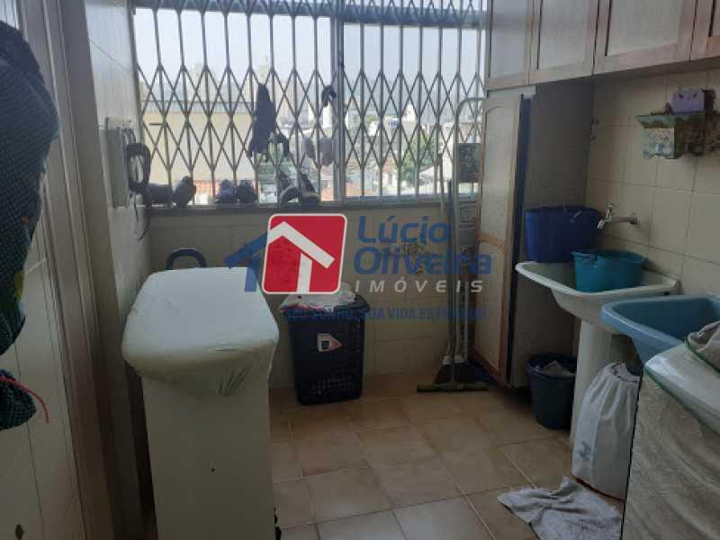 22- Area - Cobertura à venda Rua da Coragem,Vila da Penha, Rio de Janeiro - R$ 900.000 - VPCO30030 - 23