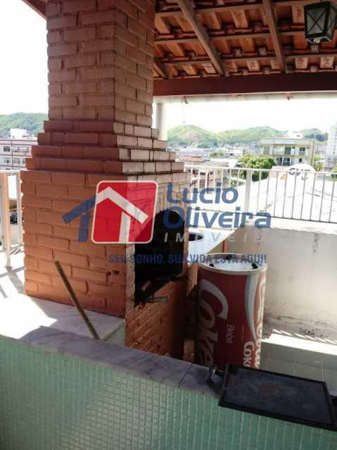 24- terraço - Cobertura à venda Rua da Coragem,Vila da Penha, Rio de Janeiro - R$ 900.000 - VPCO30030 - 25