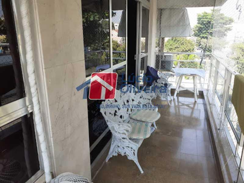 26- Varanda - Cobertura à venda Rua da Coragem,Vila da Penha, Rio de Janeiro - R$ 900.000 - VPCO30030 - 27