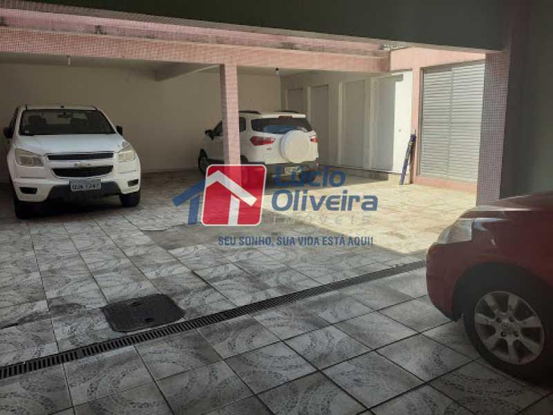 28- Garagem - Cobertura à venda Rua da Coragem,Vila da Penha, Rio de Janeiro - R$ 900.000 - VPCO30030 - 29