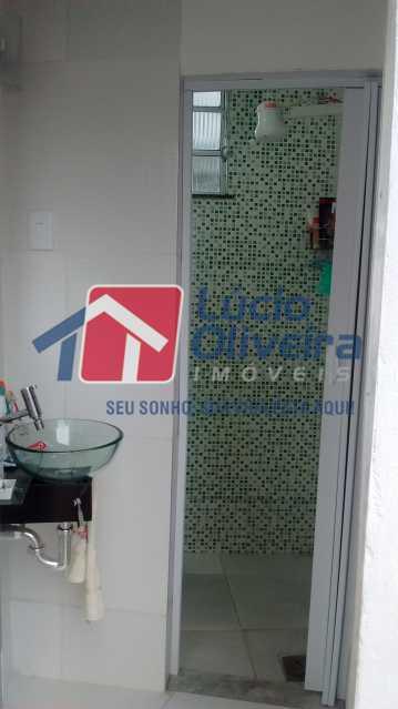 8-banheiro - Apartamento à venda Rua Luís de Brito,Maria da Graça, Rio de Janeiro - R$ 180.000 - VPAP10168 - 9