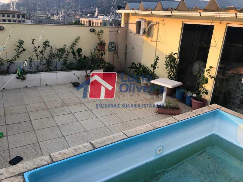 28 - Casa de Vila à venda Avenida Ernani Cardoso,Cascadura, Rio de Janeiro - R$ 550.000 - VPCV50002 - 25