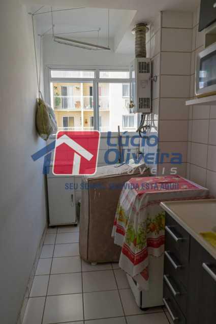 area de serviço 2. - Apartamento 2 quartos à venda Irajá, Rio de Janeiro - R$ 220.000 - VPAP21559 - 4