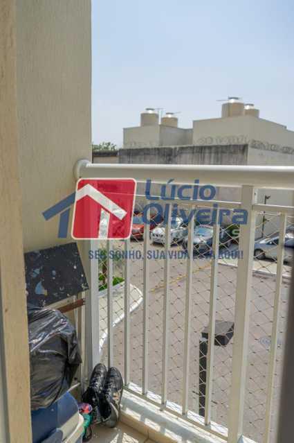 varanda. - Apartamento 2 quartos à venda Irajá, Rio de Janeiro - R$ 220.000 - VPAP21559 - 22