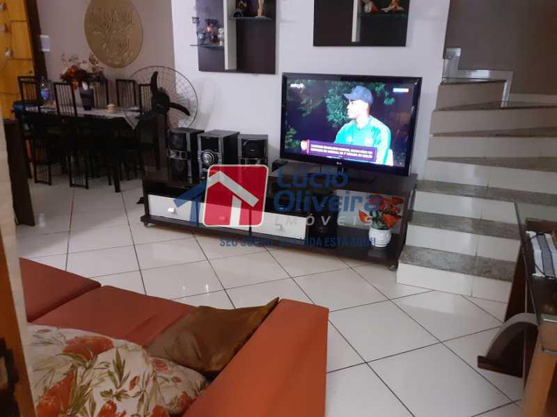 01 - Sala - Casa em Condomínio 3 quartos à venda Vista Alegre, Rio de Janeiro - R$ 470.000 - VPCN30013 - 1