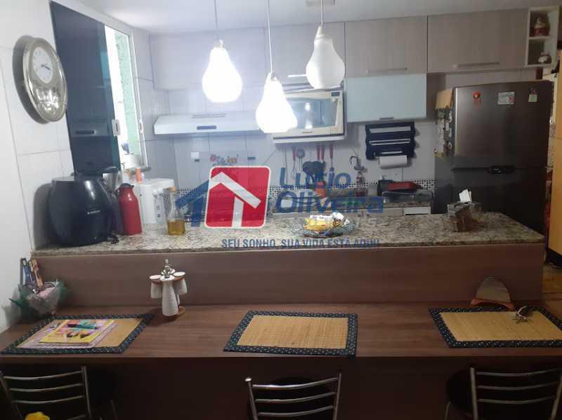 04- Cozinha - Casa em Condomínio 3 quartos à venda Vista Alegre, Rio de Janeiro - R$ 470.000 - VPCN30013 - 5