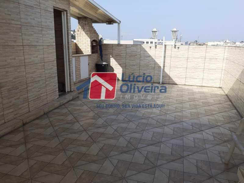 13- Terraço - Casa em Condomínio 3 quartos à venda Vista Alegre, Rio de Janeiro - R$ 470.000 - VPCN30013 - 15