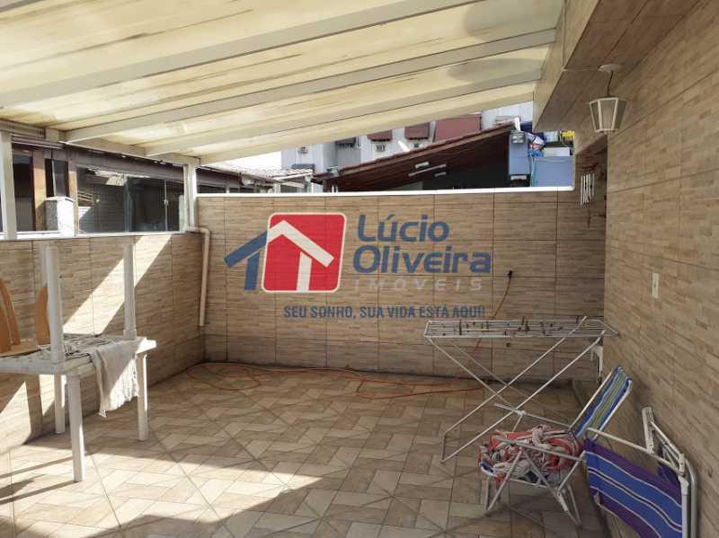 14- Terraço - Casa em Condomínio 3 quartos à venda Vista Alegre, Rio de Janeiro - R$ 470.000 - VPCN30013 - 16