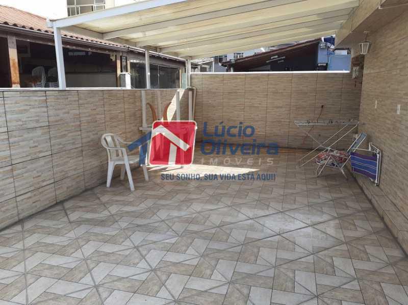 15- Terraço - Casa em Condomínio 3 quartos à venda Vista Alegre, Rio de Janeiro - R$ 470.000 - VPCN30013 - 17