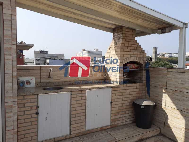 16- Churrasqueira - Casa em Condomínio 3 quartos à venda Vista Alegre, Rio de Janeiro - R$ 470.000 - VPCN30013 - 18
