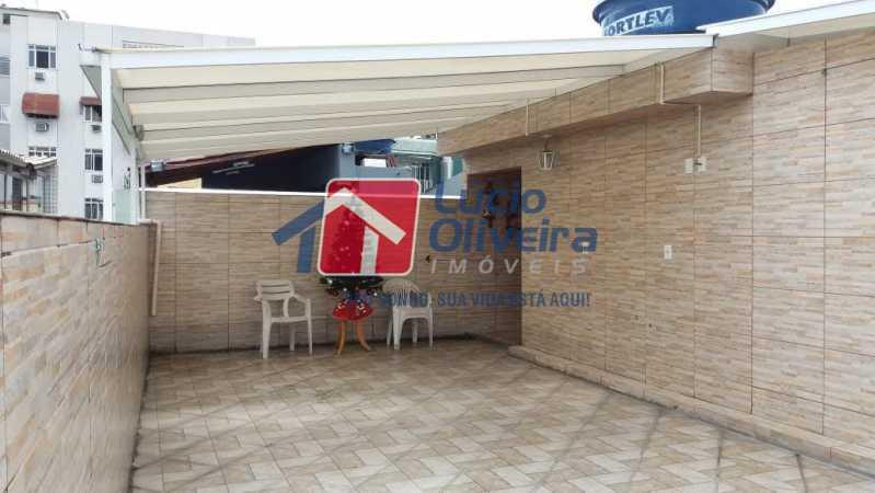 17- Terraço - Casa em Condomínio 3 quartos à venda Vista Alegre, Rio de Janeiro - R$ 470.000 - VPCN30013 - 19
