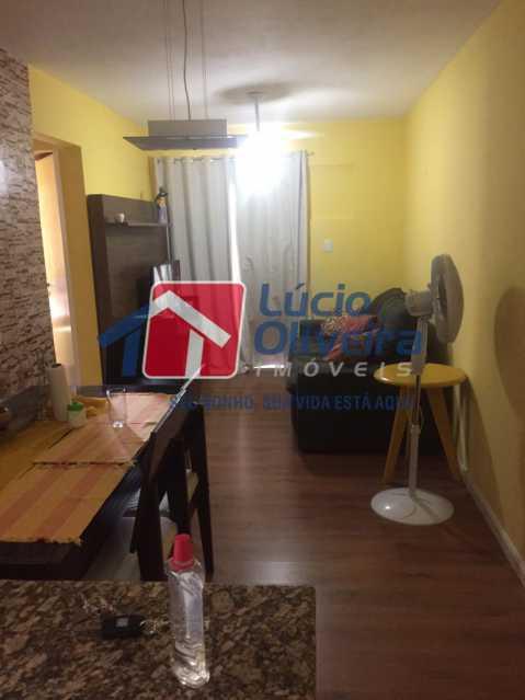 2-sala - Apartamento à venda Rua Comendador Pinto,Campinho, Rio de Janeiro - R$ 220.000 - VPAP21563 - 3