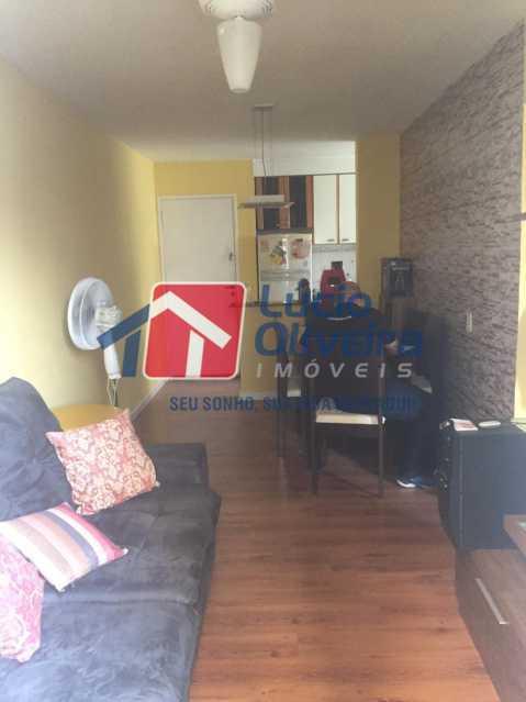 3-sala - Apartamento à venda Rua Comendador Pinto,Campinho, Rio de Janeiro - R$ 220.000 - VPAP21563 - 4
