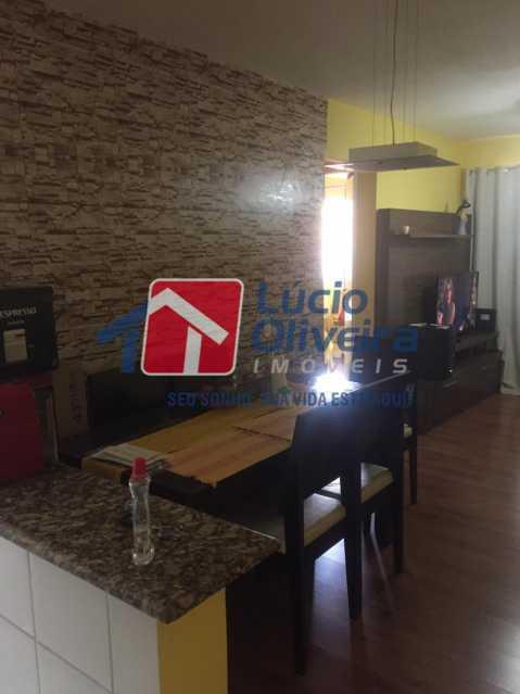 4-sala - Apartamento à venda Rua Comendador Pinto,Campinho, Rio de Janeiro - R$ 220.000 - VPAP21563 - 1