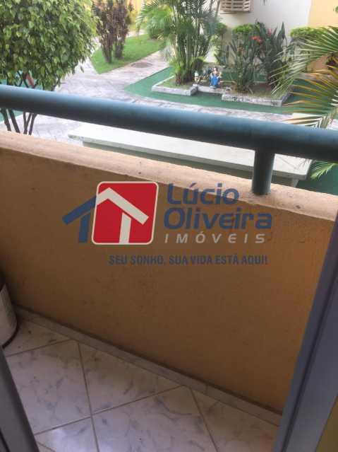 16-varanda - Apartamento à venda Rua Comendador Pinto,Campinho, Rio de Janeiro - R$ 220.000 - VPAP21563 - 16