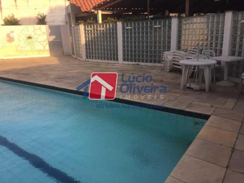 17-piscina - Apartamento à venda Rua Comendador Pinto,Campinho, Rio de Janeiro - R$ 220.000 - VPAP21563 - 17
