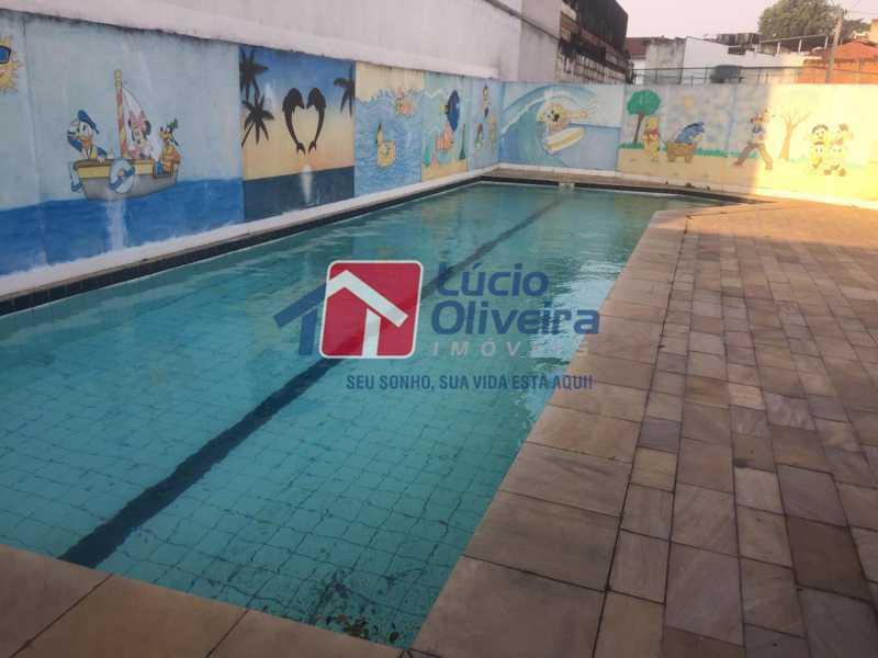 18-piscina - Apartamento à venda Rua Comendador Pinto,Campinho, Rio de Janeiro - R$ 220.000 - VPAP21563 - 18