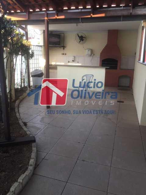 22-churrasqueira - Apartamento à venda Rua Comendador Pinto,Campinho, Rio de Janeiro - R$ 220.000 - VPAP21563 - 22