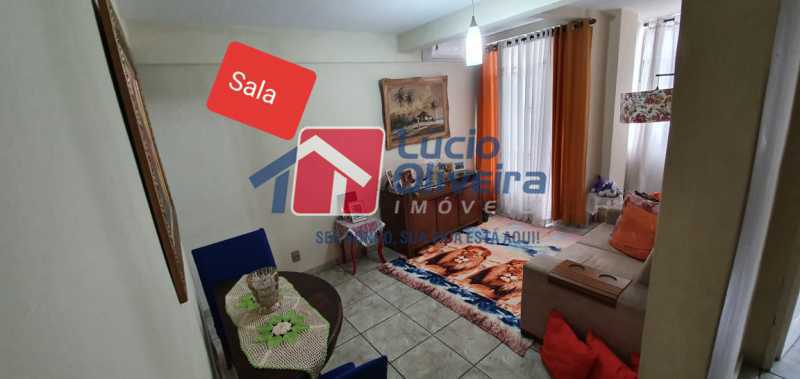 1-sala - Apartamento à venda Rua Nossa Senhora de Lourdes,Grajaú, Rio de Janeiro - R$ 410.000 - VPAP21565 - 1